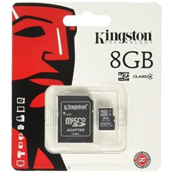 Tarjeta Micro SD 8 GB Kingston