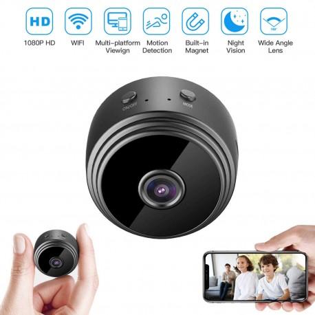 Mini Camara Espia IP Wifi HD 1080p Vision Nocturna por Infrarrojos