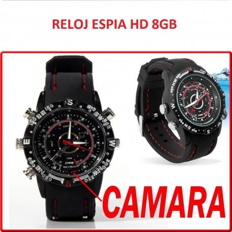 Reloj Camara Espia HD