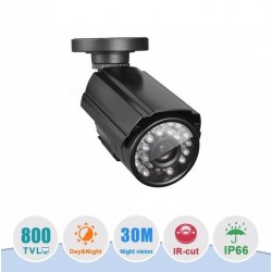 Camara CCTV HD Vision Nocturna Impermeable