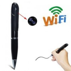 Boligrafo Espia HD Camara Wifi