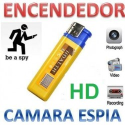 Mechero Camara Espia HD