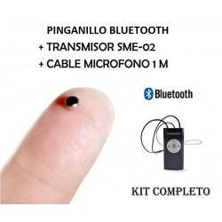 Auricular con Transmisor Bluetooth