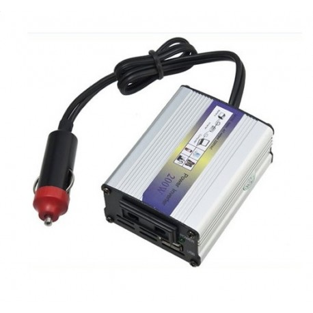 Transformador Inverter 12V/220V 200W
