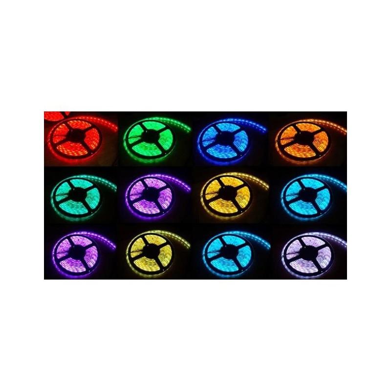 Tira de led 3528 color fijo 5 metros for Tiras led de colores