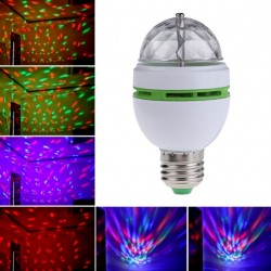 Bombilla LED Giratoria RGB